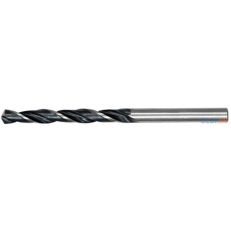 Сверло по металлу, 7,5 мм, быстрорежущая сталь, 10 шт. цилиндрический хвостовик// Сибртех