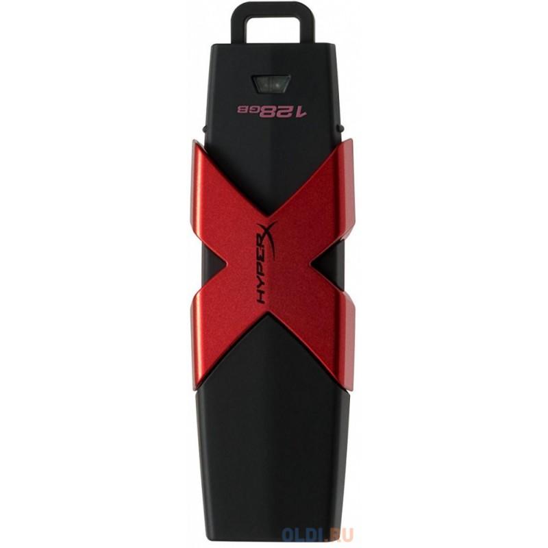 Флешка USB 128Gb Kingston HX Savage HXS3/128GB черный
