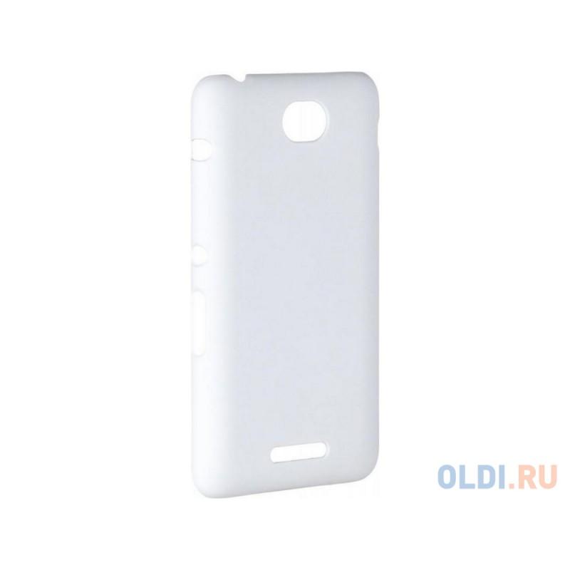 Чехол-накладка Pulsar CLIPCASE PC Soft-Touch для Sony E4 (белая)