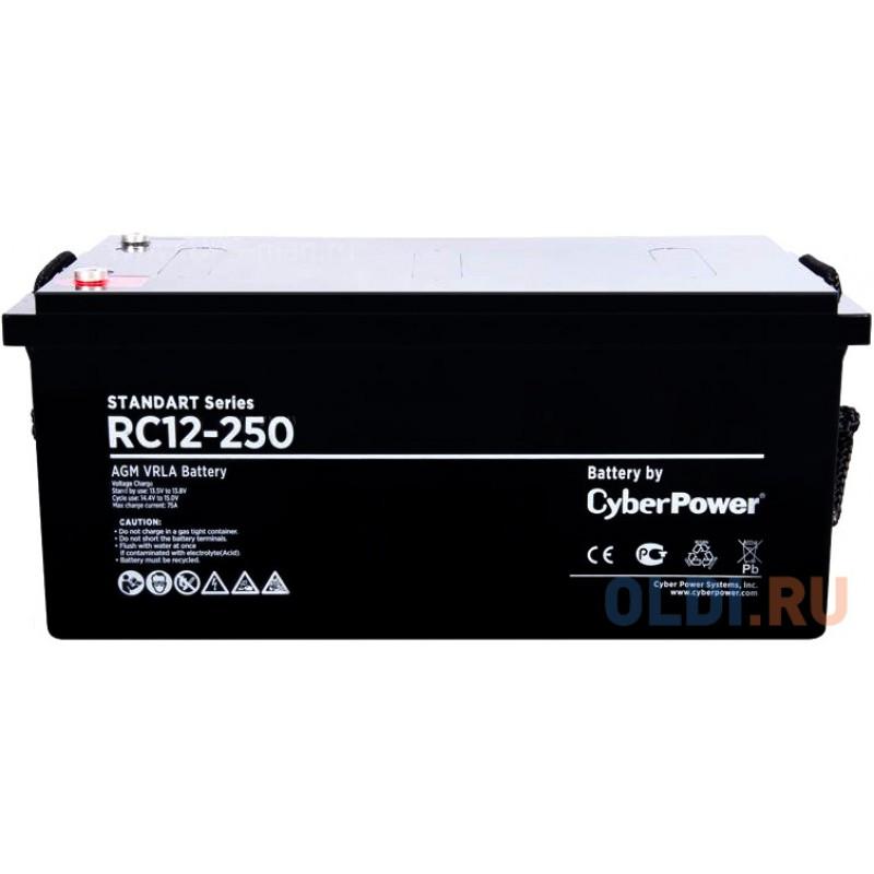 Battery CyberPower Standart series RC 12-250 / 12V 250 Ah