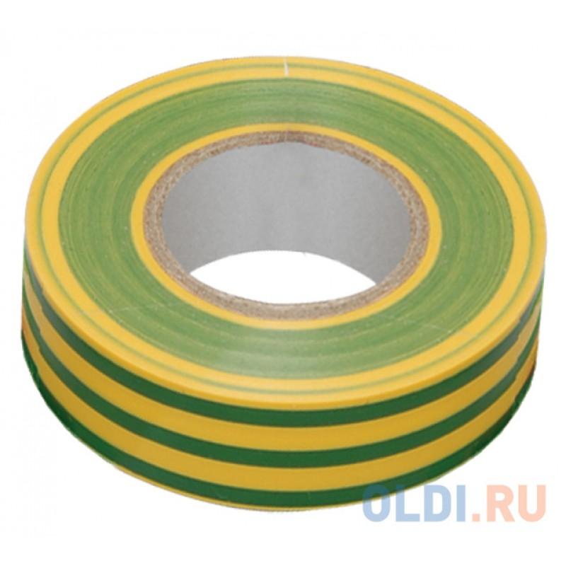 Iek UIZ-13-10-10M-K52 Изолента 0,13х15 мм желто-зеленая 10 метров ИЭК