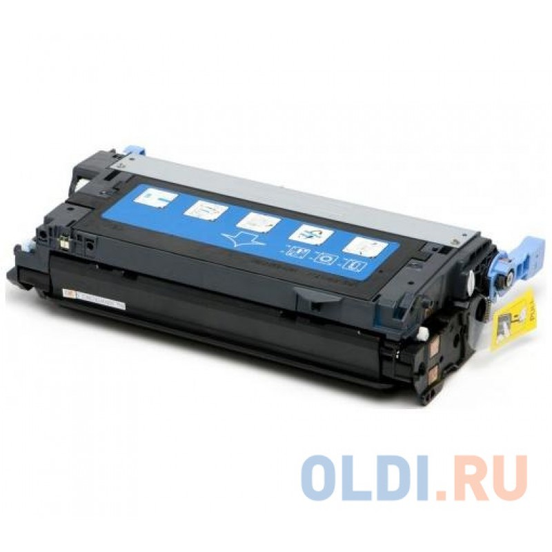 Картридж Cactus CS-Q6461AR для HP CLJ 4730 голубой 12000стр