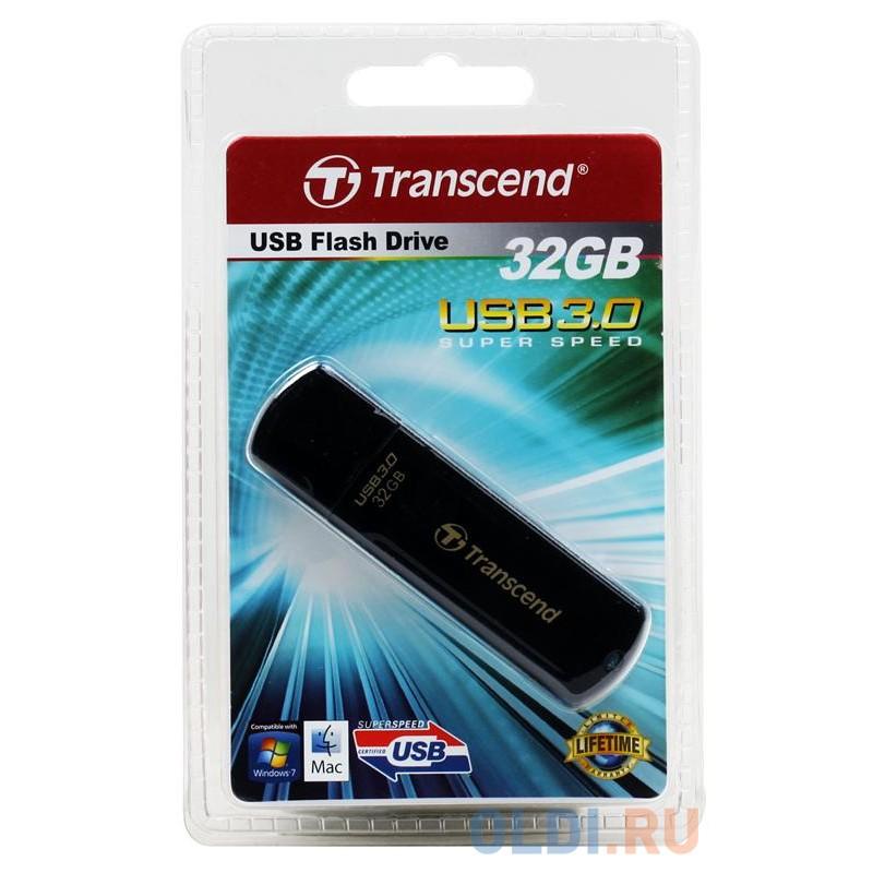 Внешний накопитель 32GB USB Drive <USB 3.0 Transcend 700 (TS32GJF700)