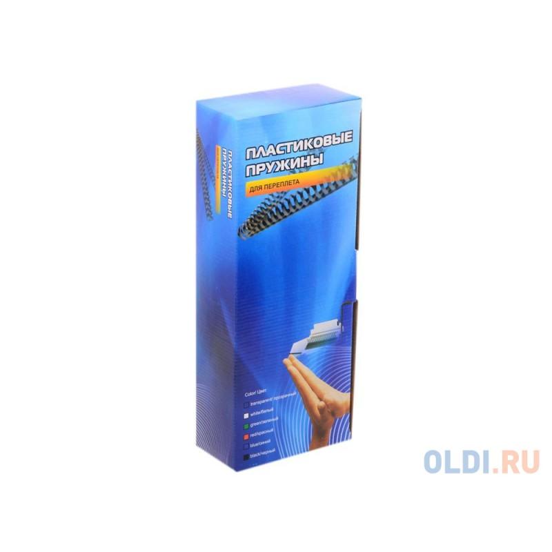 Пластиковые пружины 10 мм (50-70 листов) черные 100 шт. Office Kit (BP2020)