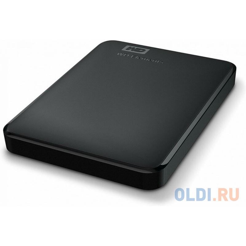 Внешний жесткий диск 4Tb WD Elements Portable WDBW8U0040BBK-EEUE (2.5