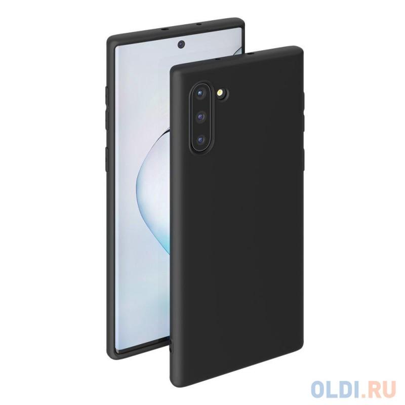 Чехол для смартфона для Samsung Galaxy Note 10 Deppa Gel Color Case 87330 Black клип-кейс, полиуретан