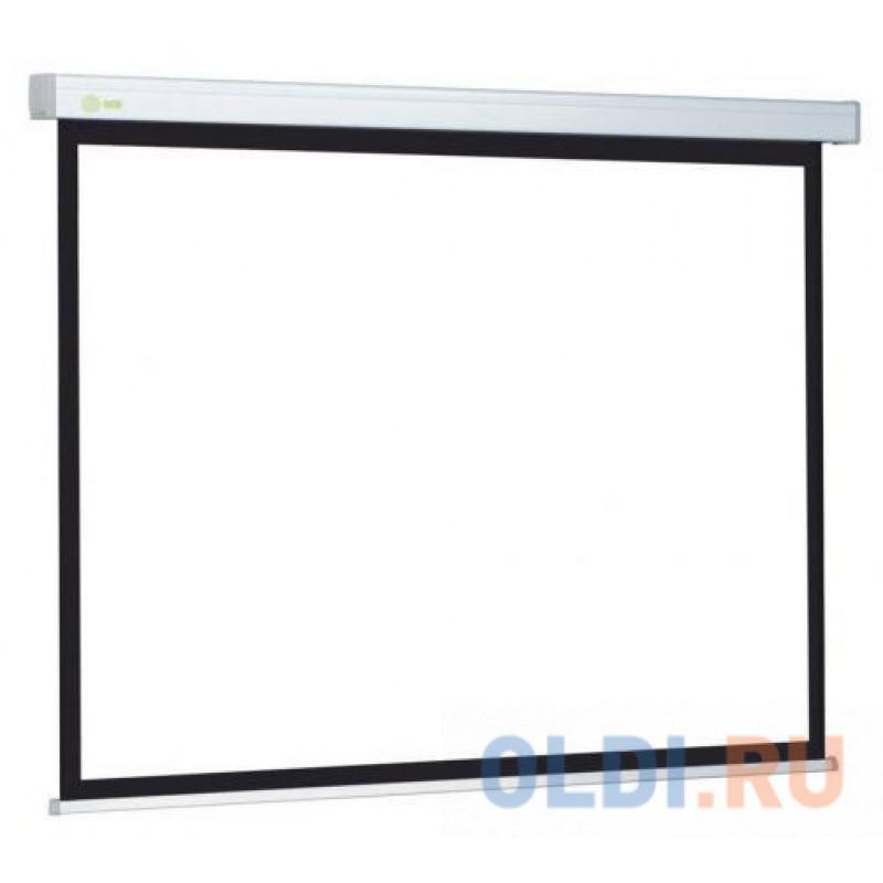 Экран Cactus Wallscreen CS-PSW-127X127 1:1 настенно-потолочный 127x127 рулонный белый