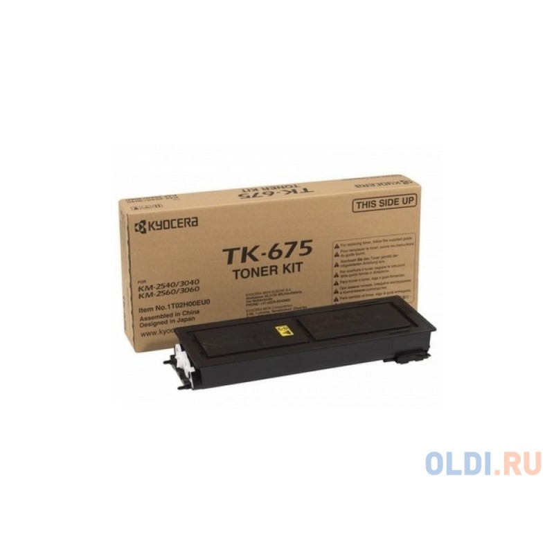 Картридж Kyocera TK-675 для KM 2540 3040 2560 3060 черный 20000стр