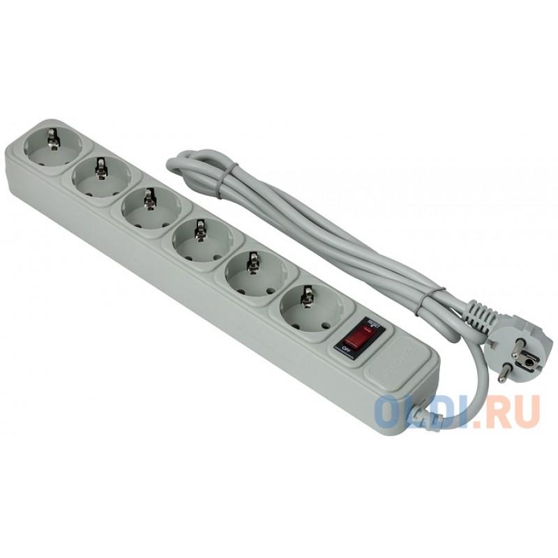 Сетевой фильтр Exegate SP-6-1.5G 6 розеток 1.5 м EX266865RUS