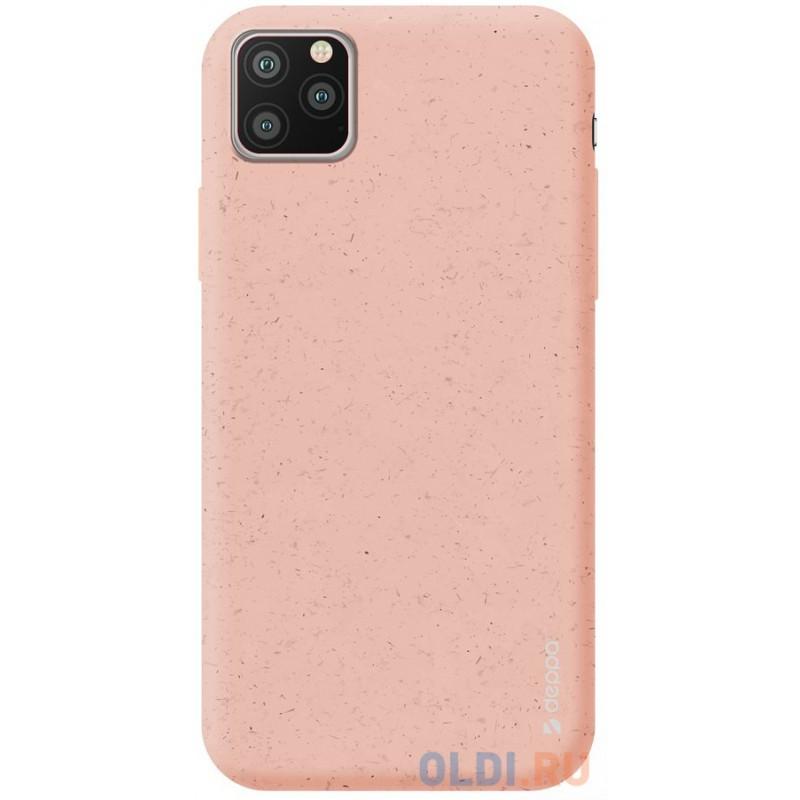 Чехол для смартфона для Apple iPhone 11 Pro Max Deppa Eco Case 87284 Pink клип-кейс, полиуретан