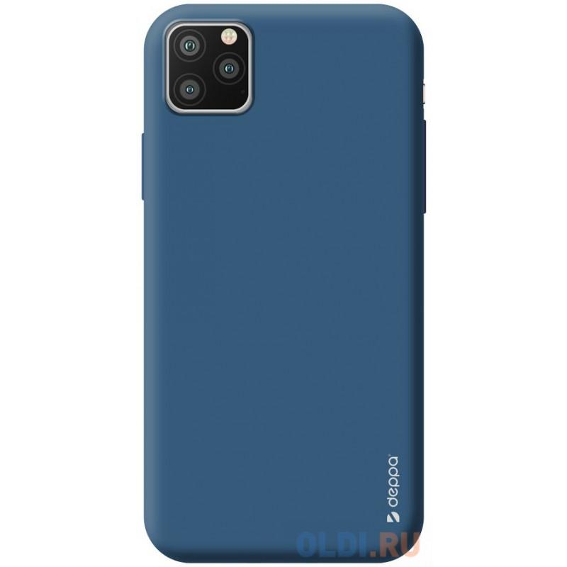Чехол для смартфона для Apple iPhone 11 Pro Max Deppa Gel Color Case 87247 Blue клип-кейс, полиуретан