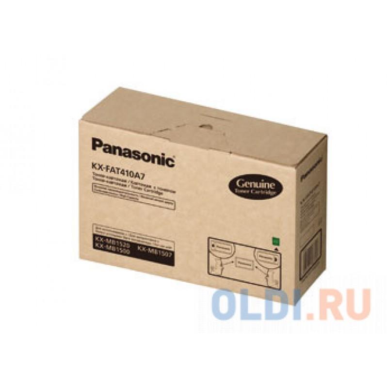 Картридж Panasonic KX-FAT410A7 2500стр Черный
