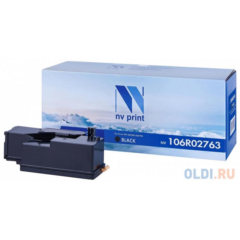 Картридж NV-Print 106R02763 для Xerox Phaser 6020 Phaser 6022 WorkCentre 6025 WorkCentre 6027 2000стр Черный