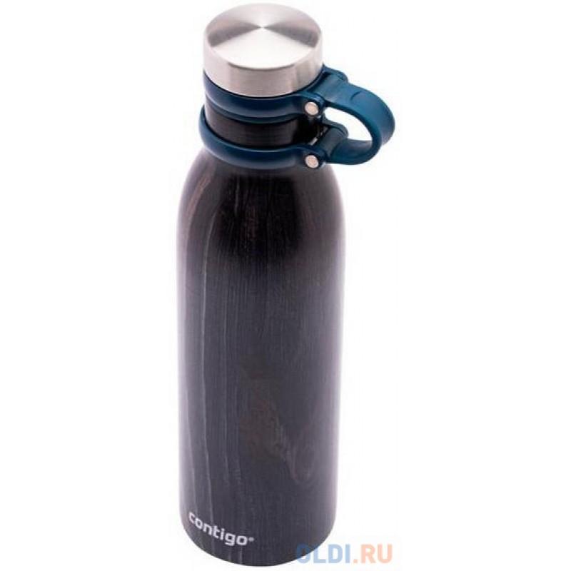 Термос-бутылка Contigo Matterhorn Couture 0.59л. черный/синий (2104550)