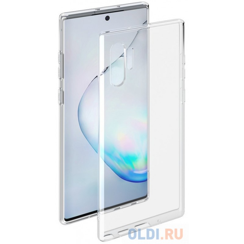 Чехол для смартфона для Samsung Galaxy Note 10 Plus Deppa Gel Case 87329 Transparent клип-кейс, полиуретан
