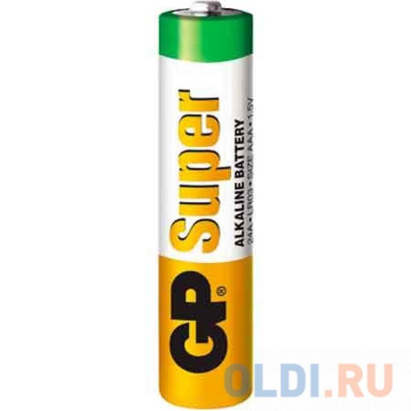 Батарейки GP Super Alkaline LR03 30 шт GP 24A-B30