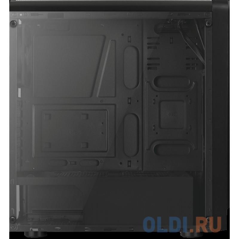 Корпус Aerocool RIFT , ATX, без БП, окно из акрила, 195x461x411мм (ШxГxВ), USB3.0 x1, USB2.0 x2, SD Card Reader, 13 режимов подсветки