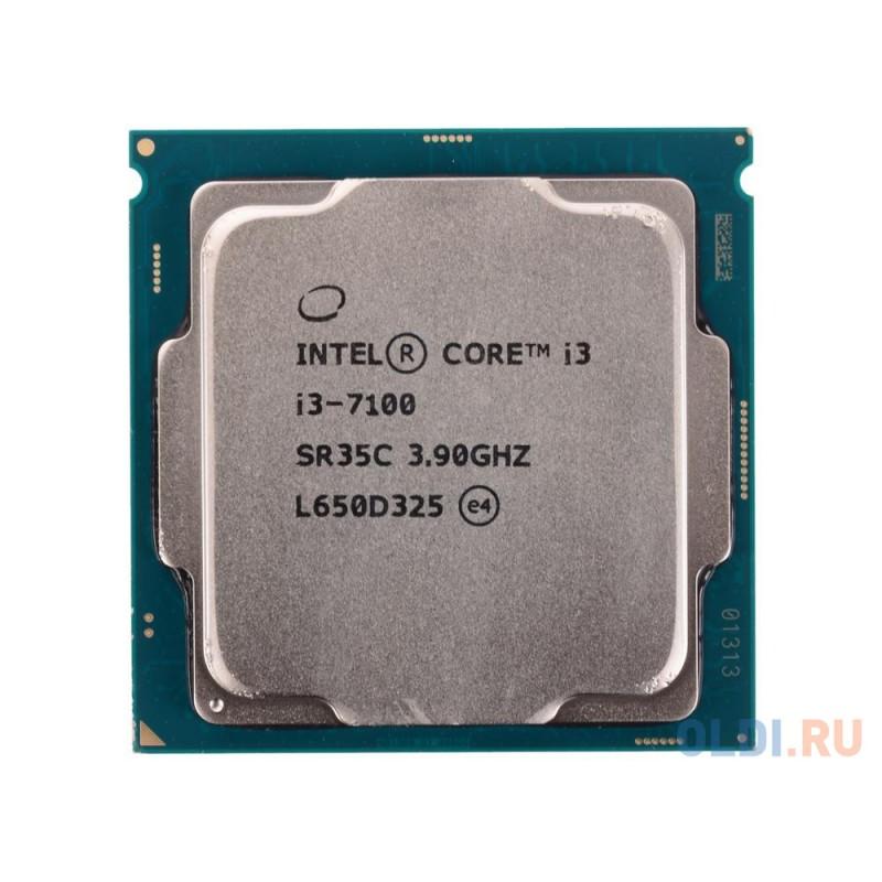 Процессор Intel® Core™ i3-7100 OEM <TPD 51W, 2/4, Base 3.9GHz, 3Mb, LGA1151 (Kaby Lake)