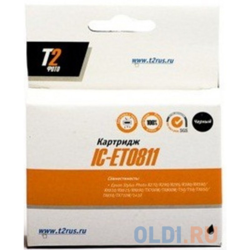 Картридж T2 IC-ET038 C13T038140 для Epson St C43/C45 черный