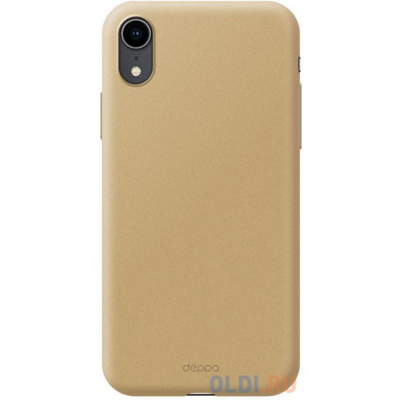 Чехол Deppa Air Case для Apple iPhone XR, золотой