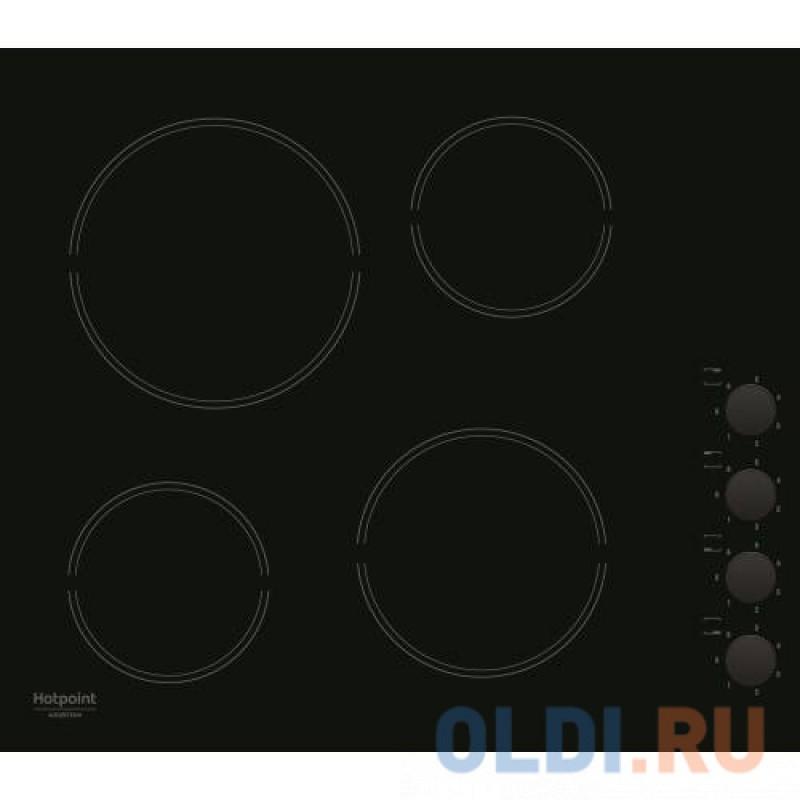 Варочная панель электрическая Ariston HR 629 C черный