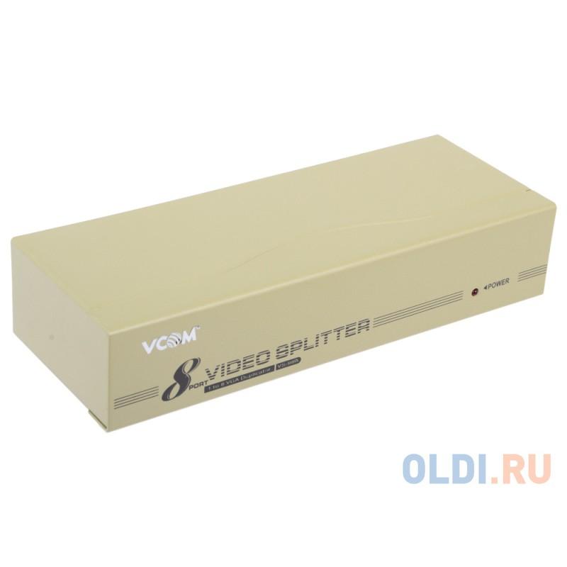 Разветвитель VGA 1 to 8 VS-98A Vpro mod:DD128 350MHz VCOM <VDS8017