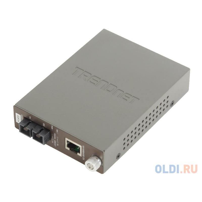 Медиаконвертер TRENDnet TFC-110S30 Одномодовый оптоволоконный медиа-конвертер с оптическим портом 100Base-FX разъём SC, поддерживающим работу на расст