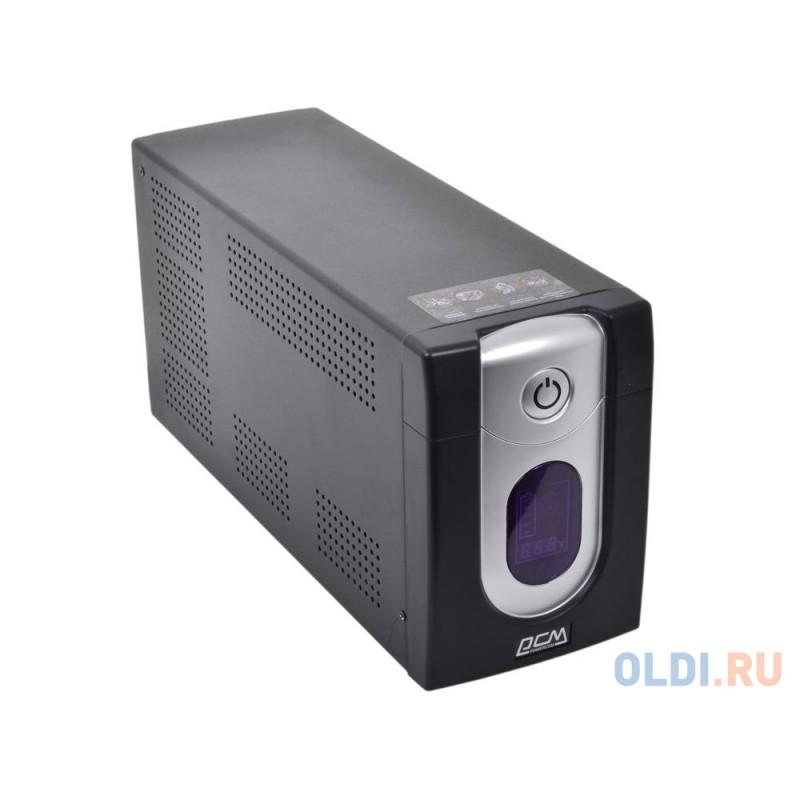 ИБП Powercom IMD-1200AP Imperial 1200VA/720W Display,USB,AVR,RJ11,RJ45 (4+2 IEC)