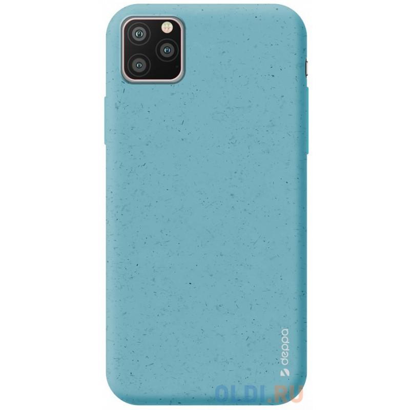 Чехол для смартфона для Apple iPhone 11 Pro Deppa Eco Case 87277 Blue клип-кейс, полиуретан