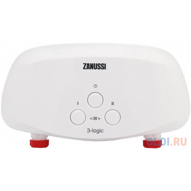 Водонагреватель проточный Zanussi 3-logic 5.5 S душ 5.5 кВт