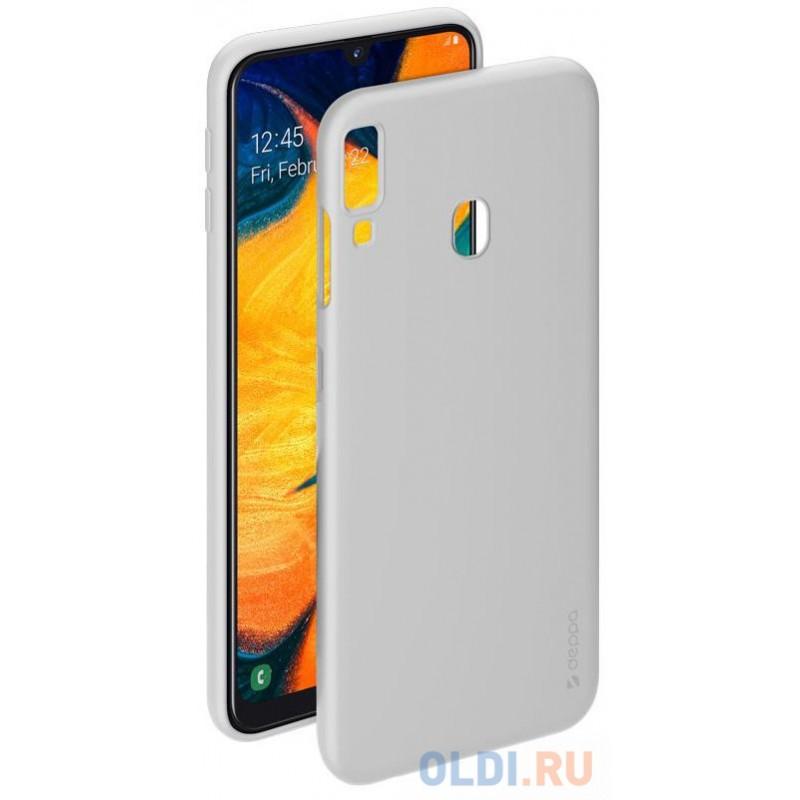 Чехол Deppa Gel Color Case для Samsung Galaxy A30/A20 (2019), белый