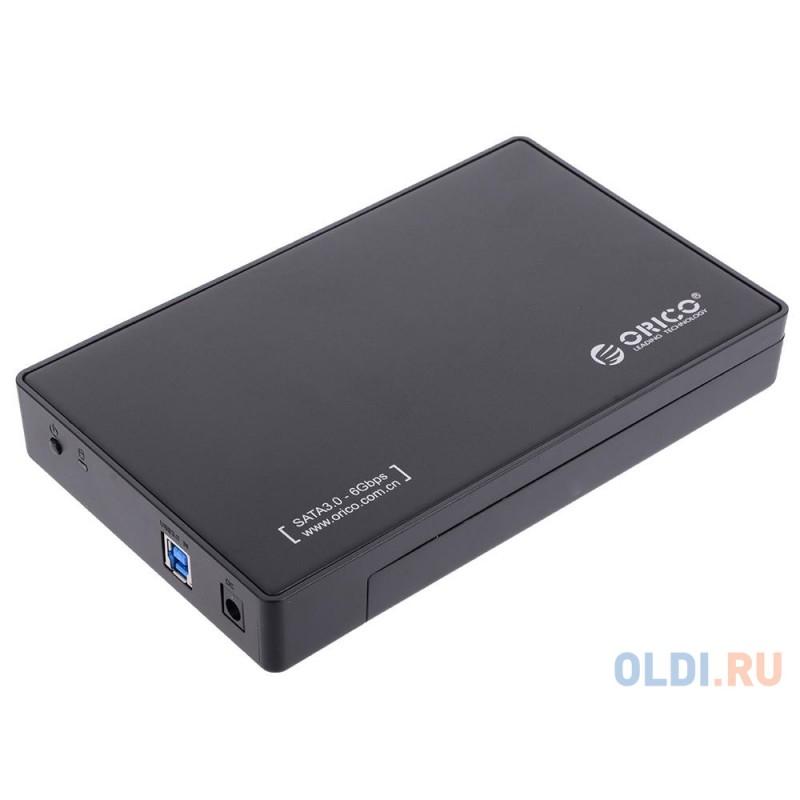 Контейнер для HDD Orico 3588US3 (черный) 2.5