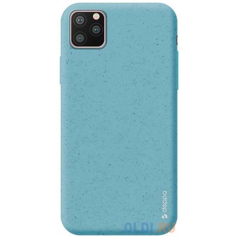Чехол для смартфона для Apple iPhone 11 Pro Max Deppa Eco Case 87287 Blue клип-кейс, полиуретан