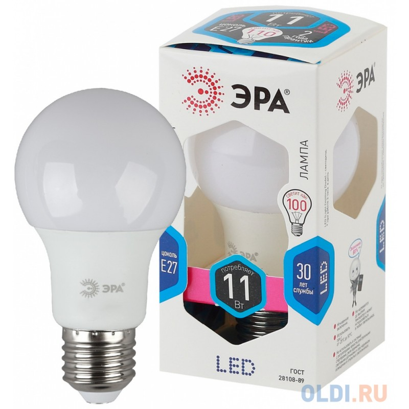 Лампа светодиодная груша Эра Б0029821 E27 220W 4000K