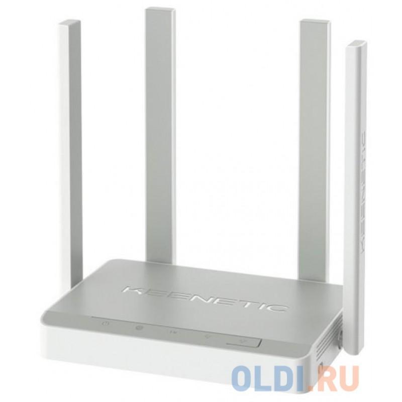 Беспроводной маршрутизатор Keenetic Air (KN-1611) Mesh Wi-Fi-система 802.11abgnac 1167Mbps 2.4 ГГц 5 ГГц 4xLAN серый