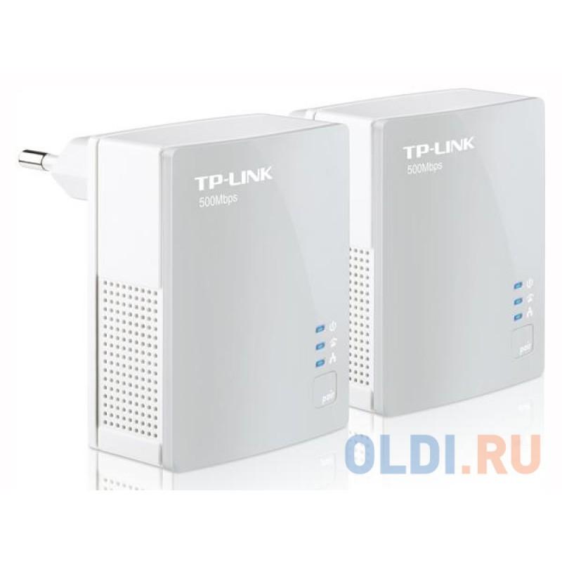 Адаптер TP-Link TL-PA4010KIT AV500/AV600 Комплект Nano адаптеров Powerline