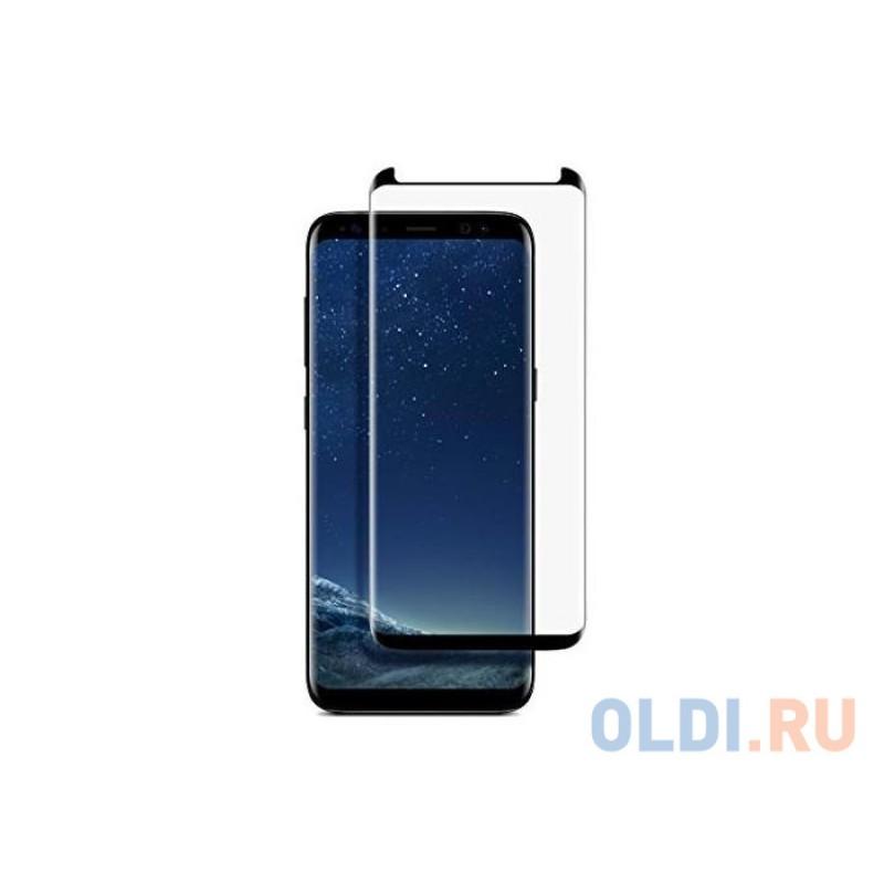 Защитное стекло BoraSCO 3D Full Glue (whole screen) для Samsung Galaxy S9 Черная рамка