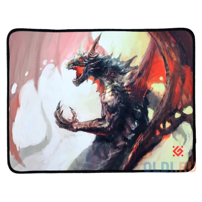 Коврик игровой Defender Dragon Rage M 360x270x3 мм