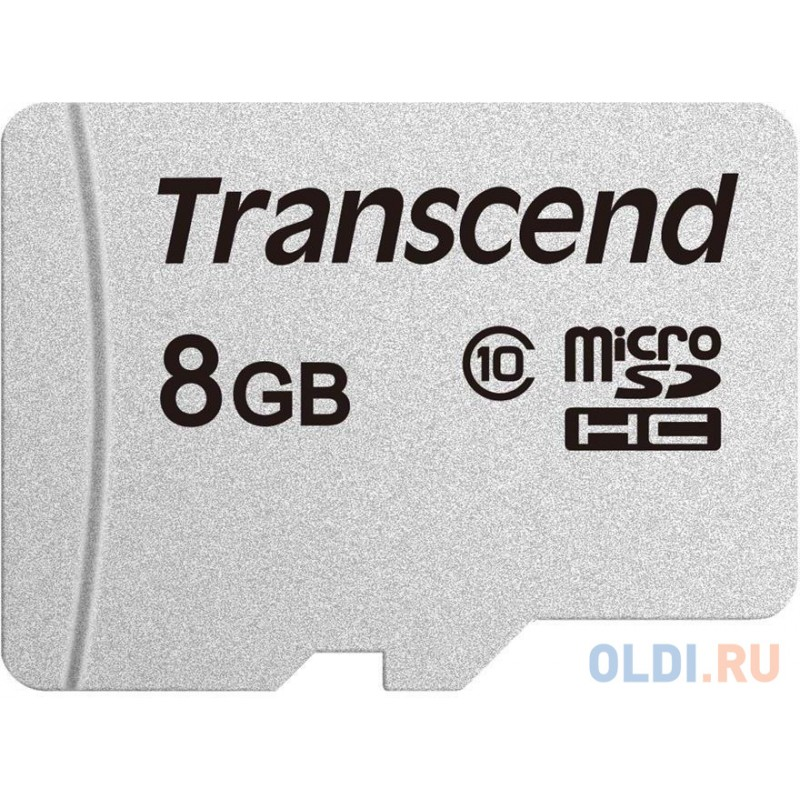 Transcend 8GB microSDHC Class 10 UHS-I U3 V30 A1 R95, W45MB/s without SD adapter TS8GUSD300S