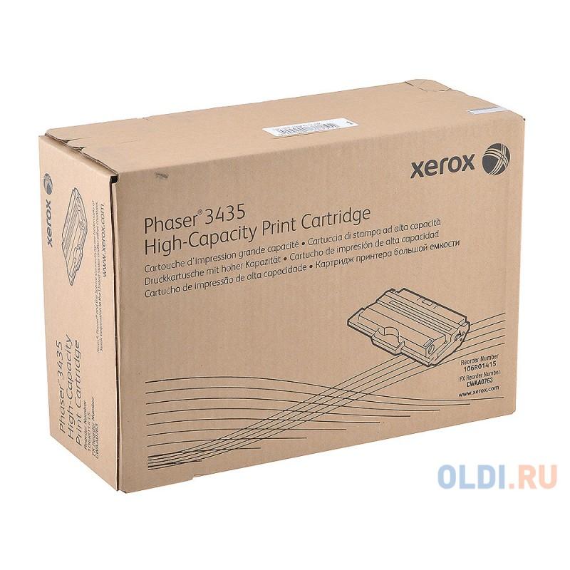 Картридж Xerox 106R01415 для Phaser 3435. Чёрный. 10000 страниц.