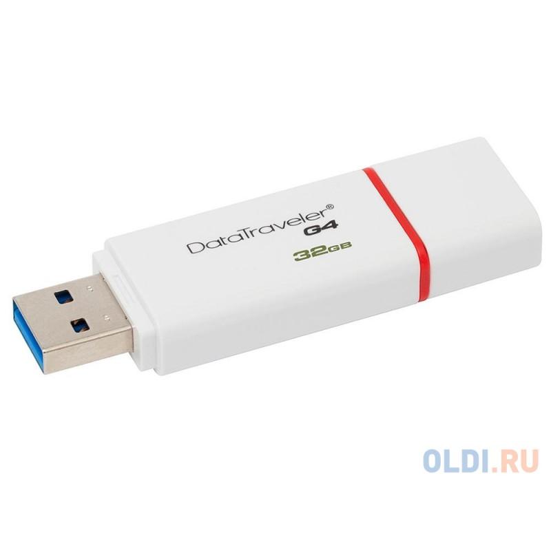 Внешний накопитель 32GB USB Drive <USB 3.0 Kingston DTIG4 (DTIG4/32GB)