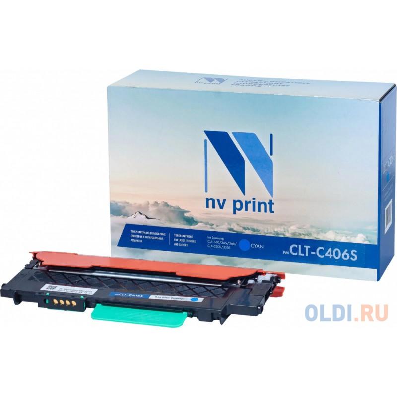 Картридж NV-Print CLTC406SC 1000стр Голубой