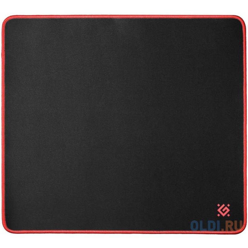 Коврик игровой Black XXL 400x355x3 мм, ткань+резина DEFENDER