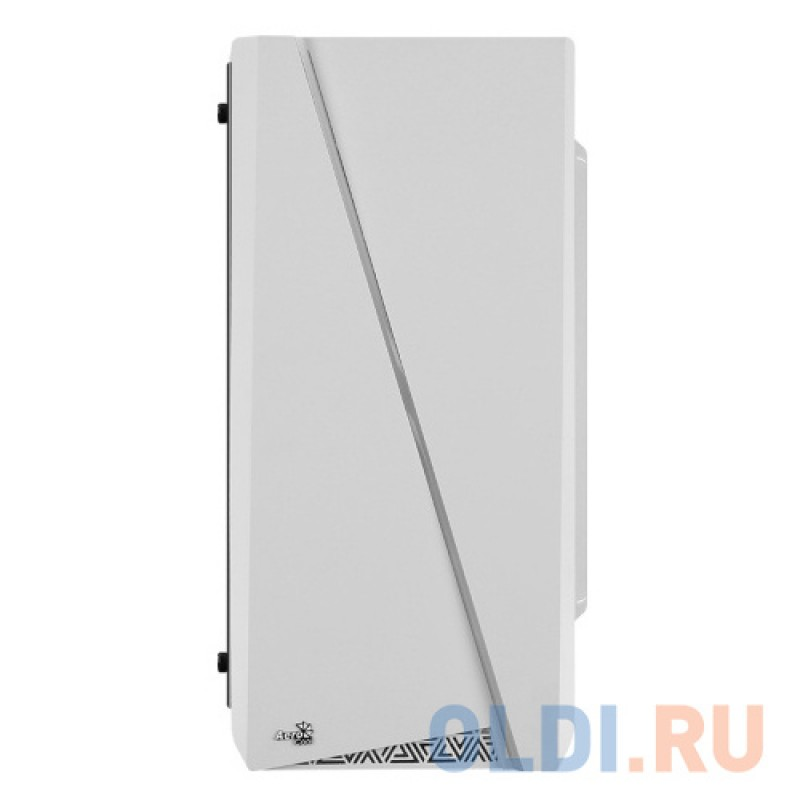 Корпус microATX Aerocool Cylon Mini White Без БП белый