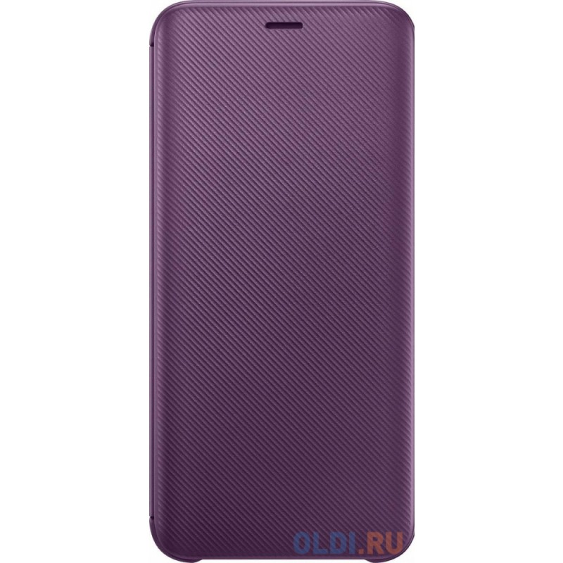 Чехол (флип-кейс) Samsung для Samsung Galaxy J6 (2018) Wallet Cover фиолетовый (EF-WJ600CVEGRU)