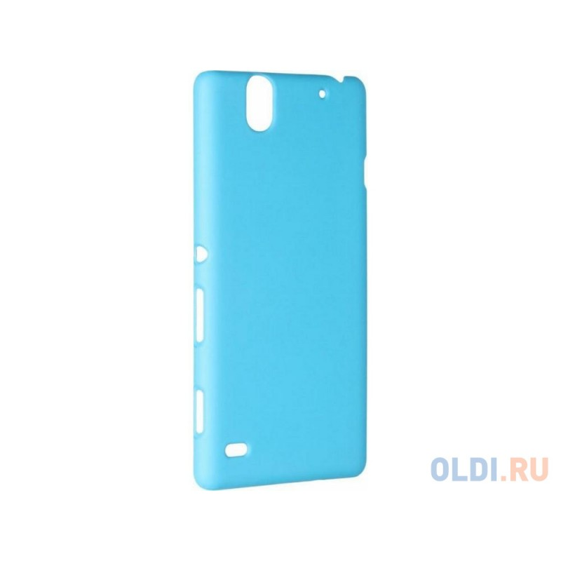 Чехол-накладка Pulsar CLIPCASE PC Soft-Touch для Sony C4 (синяя)
