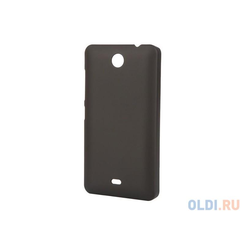 Чехол-накладка Pulsar CLIPCASE PC Soft-Touch для Microsoft Lumia 430 Dual (черная)