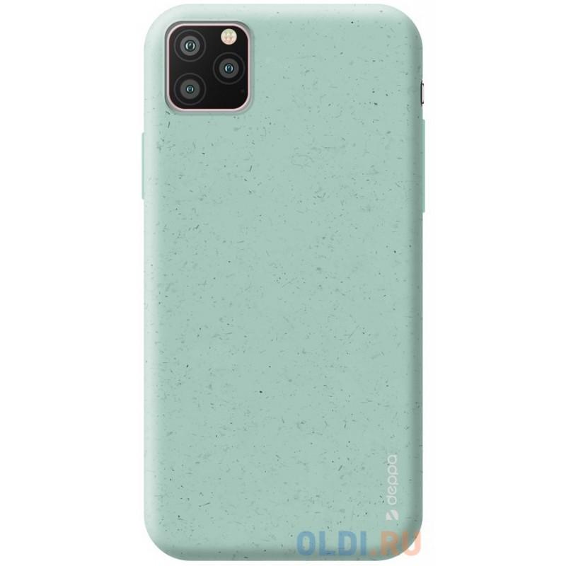 Чехол для смартфона для Apple iPhone 11 Pro Deppa Eco Case 87276 Green клип-кейс, полиуретан