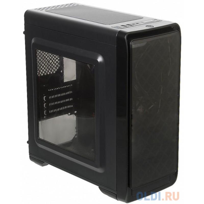 Корпус microATX Accord A-SMB Smart Без БП чёрный