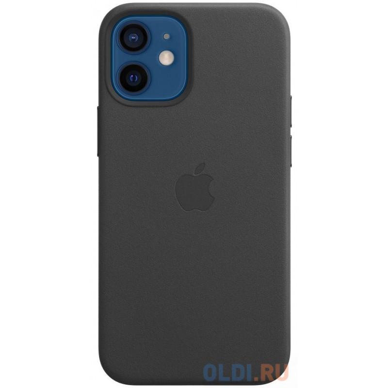 Накладка Apple MagSafe для iPhone 12 mini чёрный MHKA3ZE/A